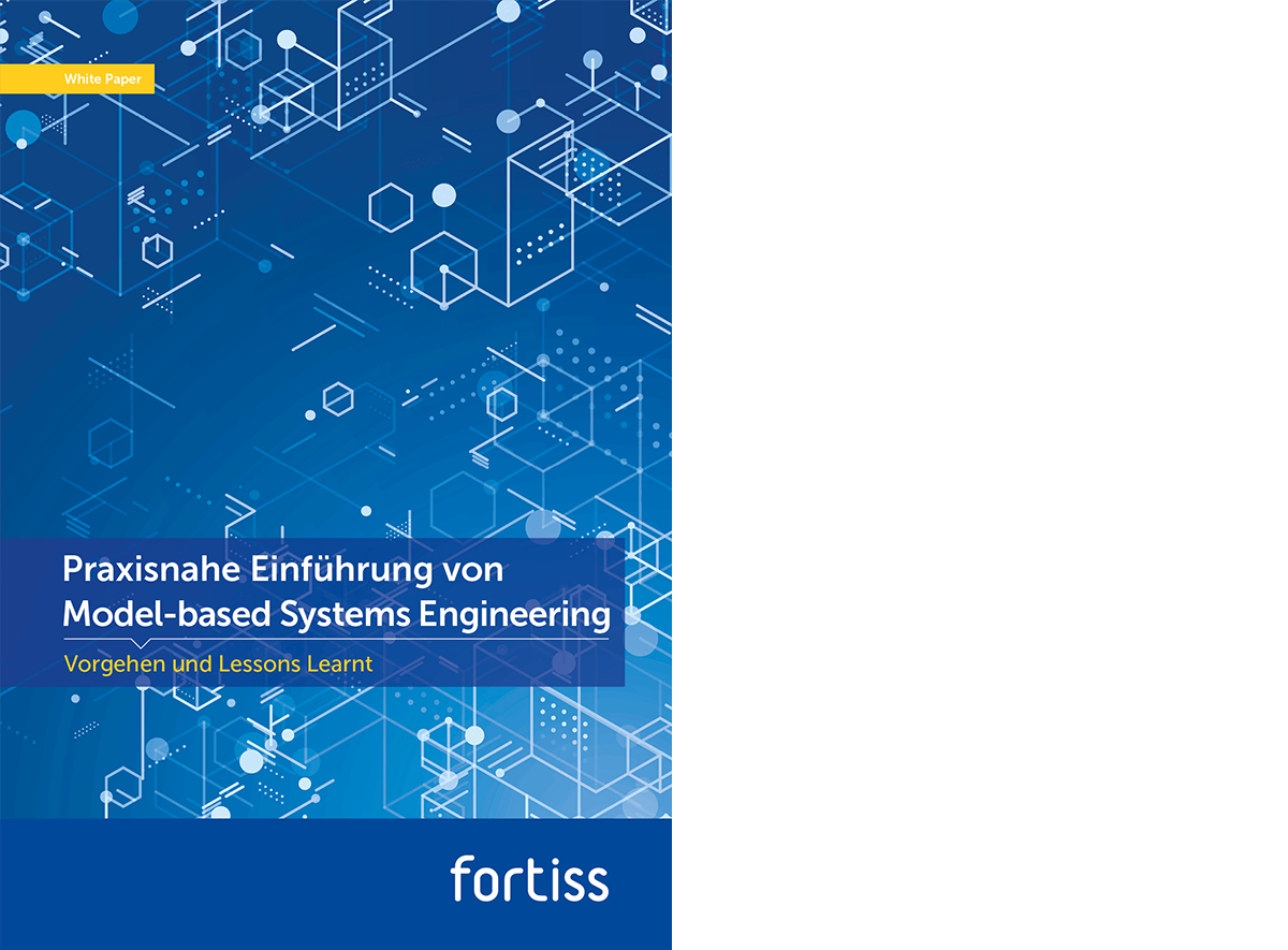 fortiss whitepaper practical introduction of Model-based Systems Engineering